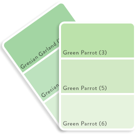 Colour Swatch - Green 4