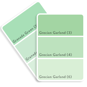 Colour Swatch - Green 5