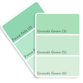 Colour Swatch - Green 6